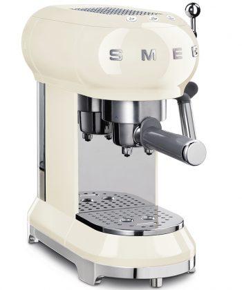 Smeg Cream Coffee Machine ECF01CRESA