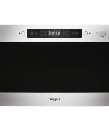 Whirlpool 22L Stainless Steel Built-in Microwave Oven - AMW439/IX