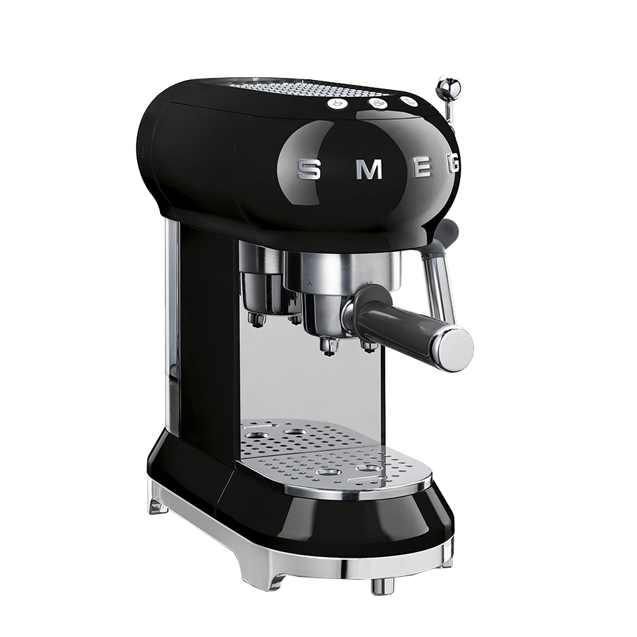 Smeg Black Coffee Machine ECF01BLSA