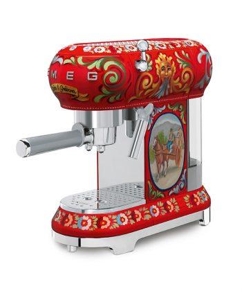 Smeg D&G Coffee Machine ECF01DGEU
