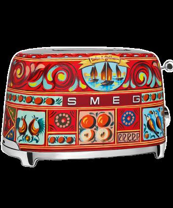 Smeg D&G 2 slice toaster TSF01DGEU