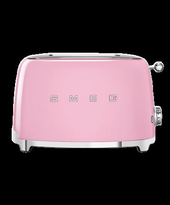 Smeg pink toaster TSF01PKEU