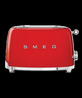 Smeg 2 lice red toaster TSF01RDSA
