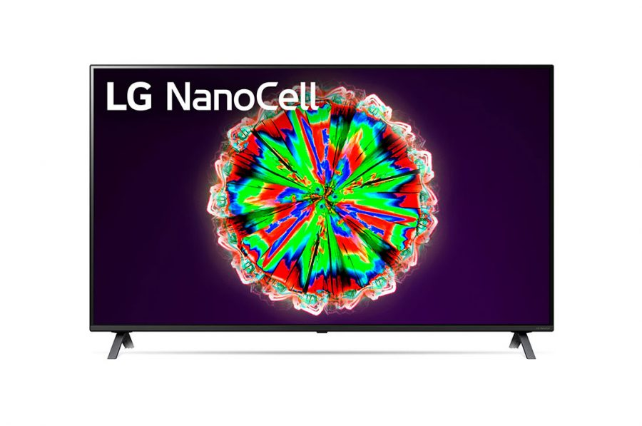 LG NanoCell 55 Inch ThinQ AI NANO80 Series TV - 55NANO80VNA
